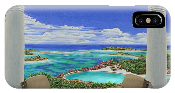 Vacation View IPhone Case
