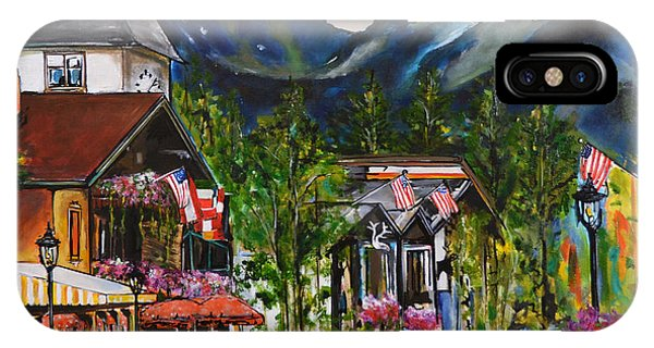 Rocky Mountain iPhone Case - Vail Village by Nancy Hilliard Joyce