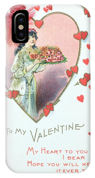 Wwi iPhone Case - Valentine Card by English School