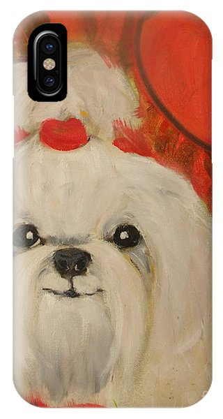 Valentine Pup IPhone Case