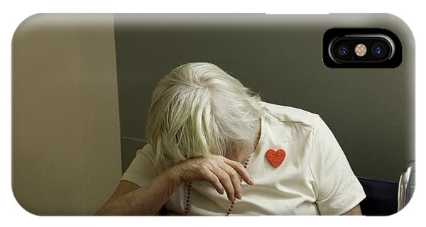Assisted Living iPhone Case - Valentines Day At A Nursing Home by Peter Essick