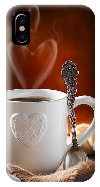 Valentine's Day Coffee IPhone Case