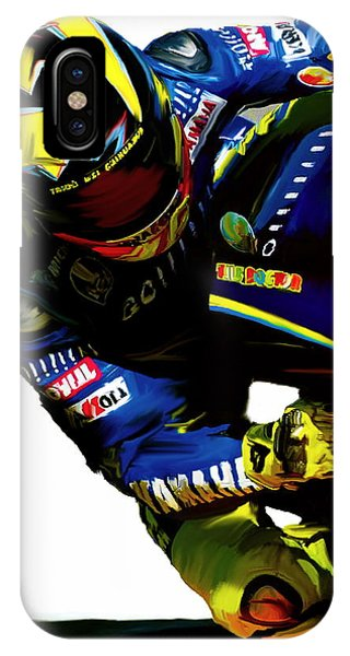 Valentino Rossi  Corner Speed IIi IPhone Case