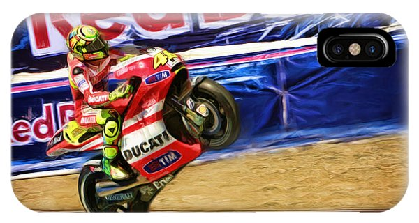 Valentino Rossi Ducati IPhone Case