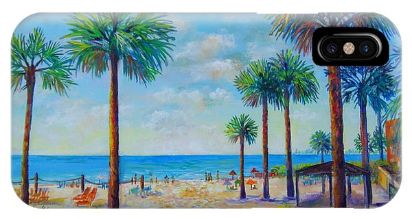 Valerie's View Of Siesta Key IPhone Case