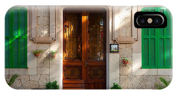 Valldemossa Facade IPhone Case