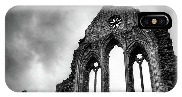 Imposing iPhone Case - Valle Crucis Abbey by Dave Bowman