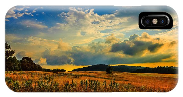 Valley Forge Sunset IPhone Case
