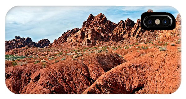 Valley Of Fire Pano IPhone Case