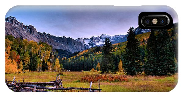 Valley Of Mt Sneffels IPhone Case