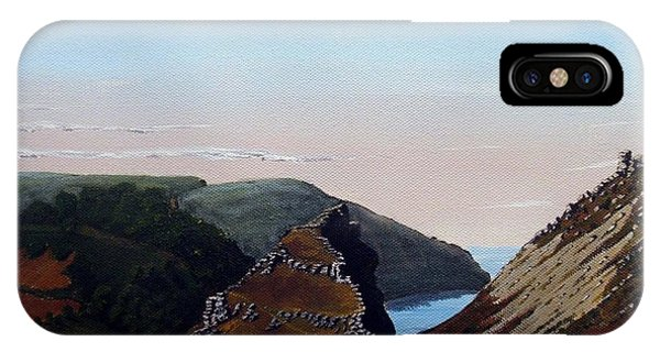 Valley Of Rocks Devon Phone Case by Richard Taylor