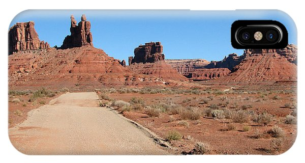 IPhone Case featuring the photograph Valley Of The Gods by Susan Leonard