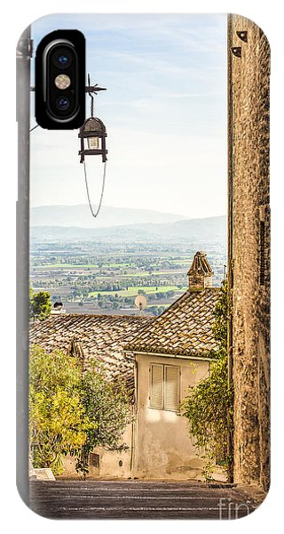 Valley Outside Assisi IPhone Case