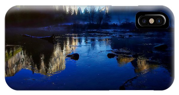 Valley View Yosemite National Park Reflection IPhone Case