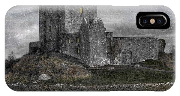 Celtics iPhone Case - Vampire Castle by Juli Scalzi