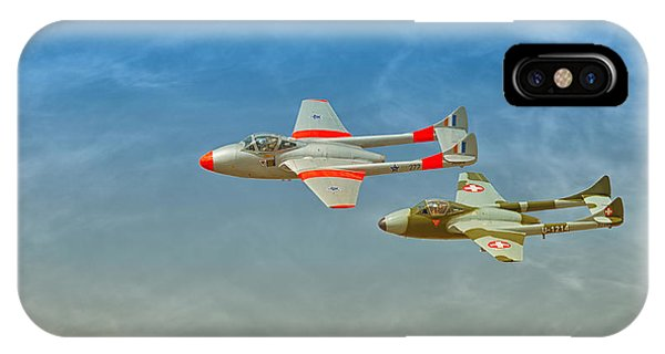 Vampire Jets Phone Case by Johan Combrink