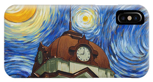 Van Gogh Courthouse IPhone Case