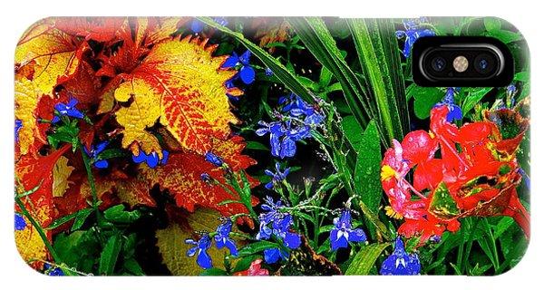 Van Gogh's Garden IPhone Case