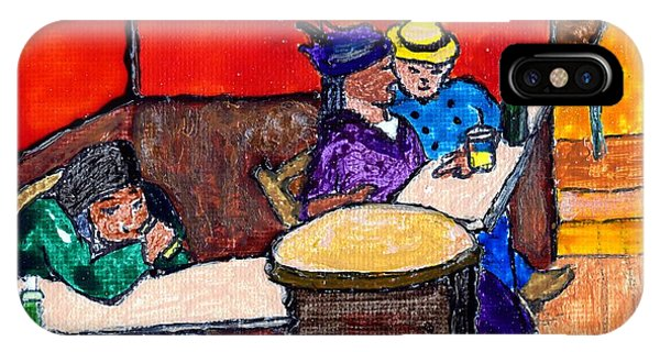 Van Gogh's Lovers IPhone Case