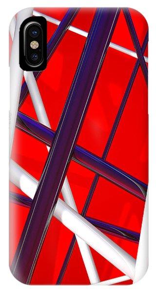 Van Halen iPhone Case - Van Halen 3d Iphone Cover by Andi Blair
