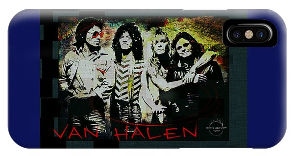 Van Halen - Ain't Talkin' 'bout Love IPhone Case