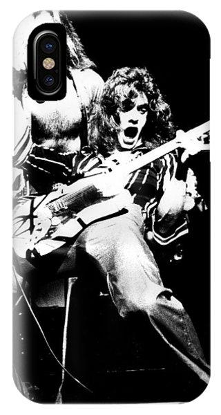Van Halen iPhone Case - Van Halen by Sue Arber
