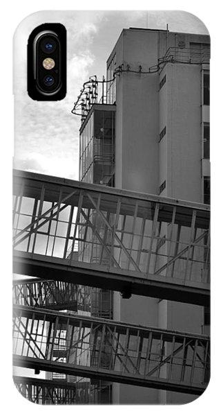 Van Nelle Factory Bw II Phone Case by Eric Keesen