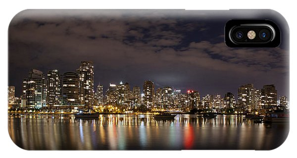 Vancouver At Night IPhone Case