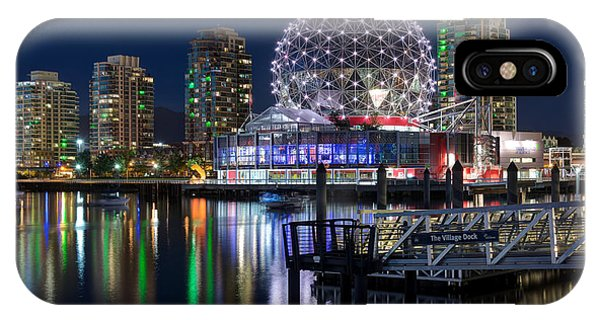 Vancouver Telus World Of Science - By Sabine Edrissi IPhone Case