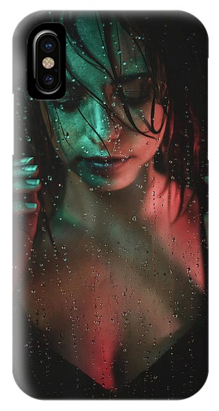 Water Droplets iPhone Case - Vanessa by Klaus Grimm