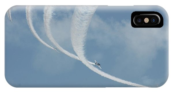 Vapor Trails In The Empty Air IPhone Case