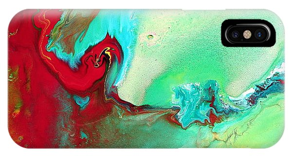 Variety - Colorful Fluid Abstract Art By Kredart IPhone Case