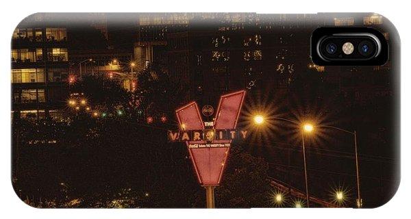 Varsity Sparkles Phone Case by Lisa Marie Pane