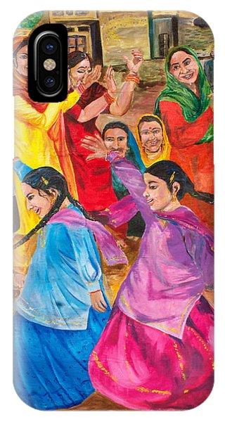 Vasakhi In A Punjab Village IPhone Case