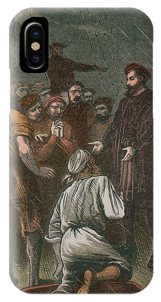 Vasco Da Gama On His Way To The East Phone Case by Mary Evans Picture Library
