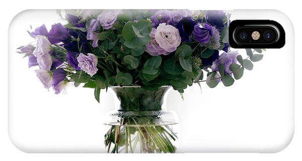 Vase Of Flowers Phone Case by Ton Kinsbergen/science Photo Library