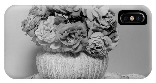 Vase Of Roses IPhone Case