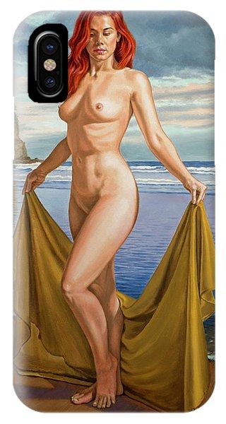 Seashore iPhone Case - Vaunt At The Beach by Paul Krapf