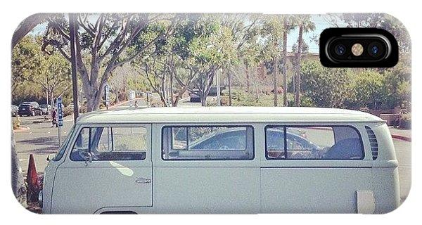 Volkswagen Bus iPhone Case - Vdub by Dave Meszaros