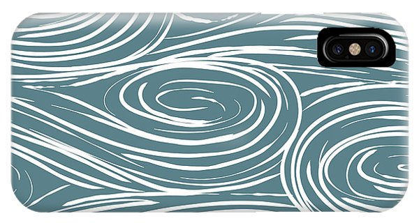 Funky iPhone Case - Vector Seamless Abstract Pattern, Waves by Maria galybina