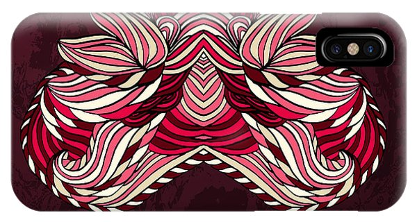 Tribal iPhone Case - Vector Tribal Abstract Element For by Kakapo Studio
