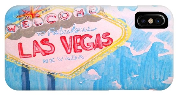 Vegas IPhone Case