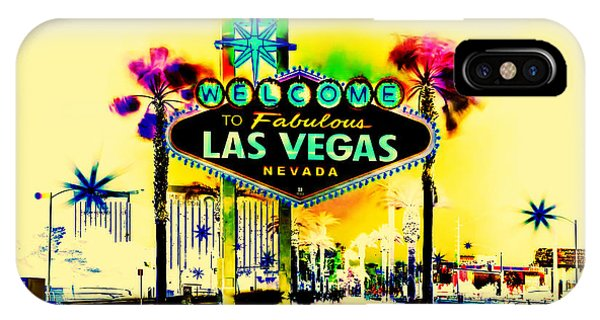 Celebration iPhone Case - Vegas Weekends by Az Jackson