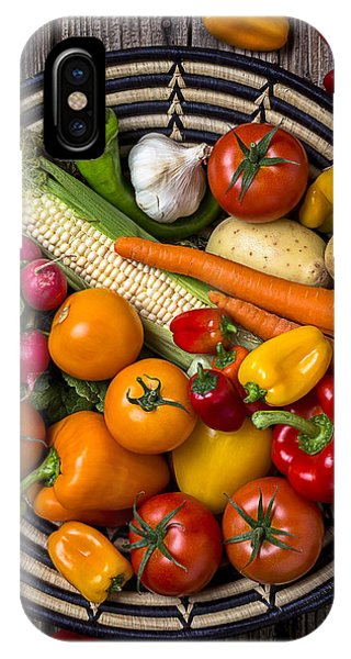 Vegetable Basket    IPhone Case
