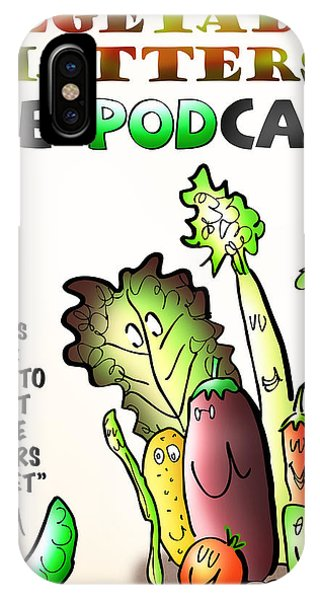 Vegetable Matters The Podcast IPhone Case