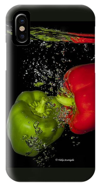Veggie Bath IPhone Case