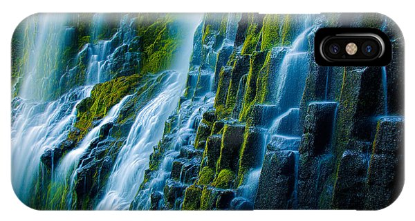 Basalt iPhone Case - Veiled Wall by Inge Johnsson