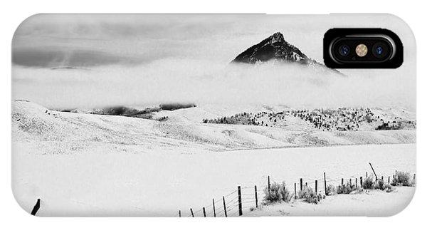 Veiled Winter Peak IPhone Case