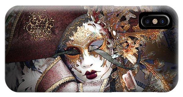 Venetian Carnival Mask IPhone Case