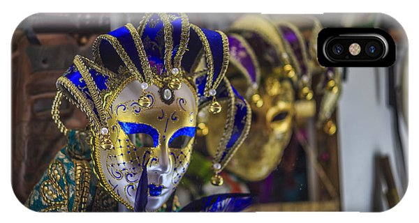 Venetian Carnival Masks Cadiz Spain IPhone Case